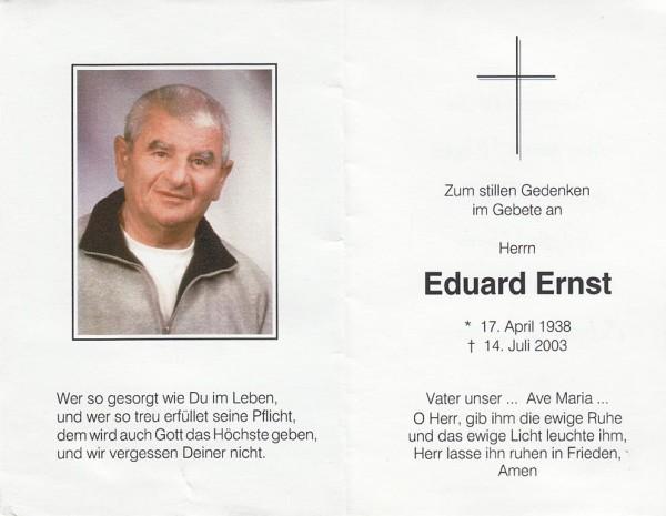 Eduard Ernst