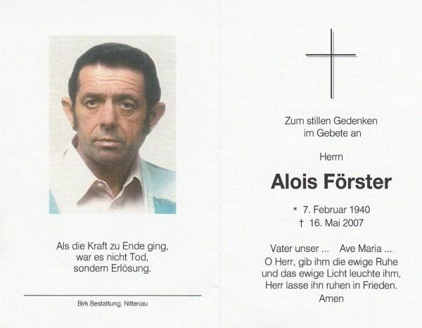 Alois Förster