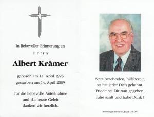 13 Albert Krämer