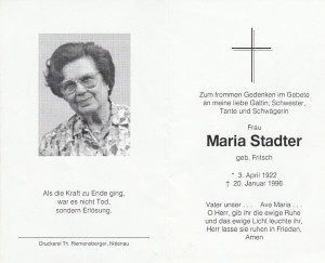 3 Maria Stadter