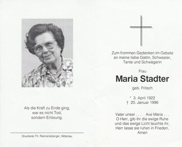 Maria Stadter