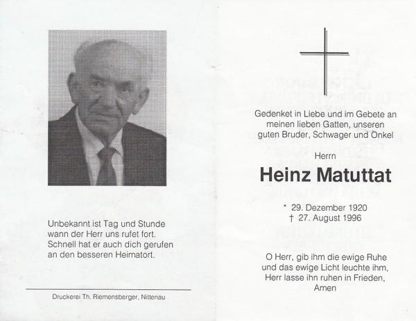Heinz Matuttat