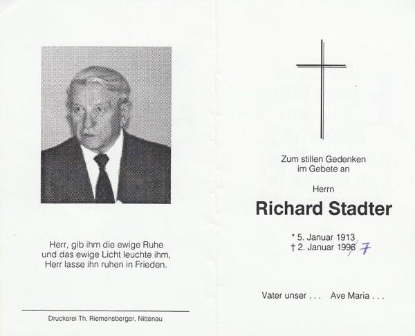 Richard Stadter