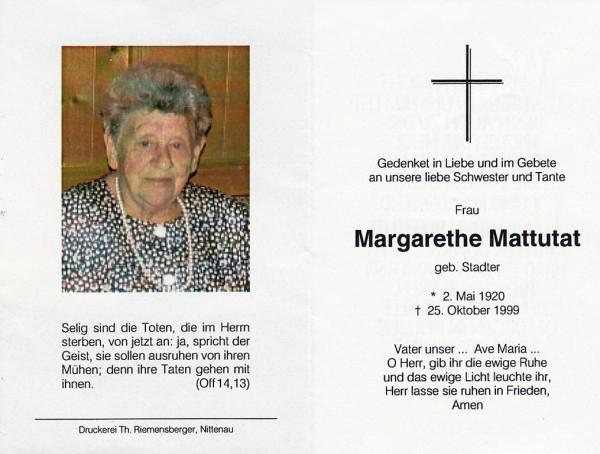 Margarethe Mattutat