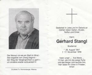 8 Gerhard Stangl