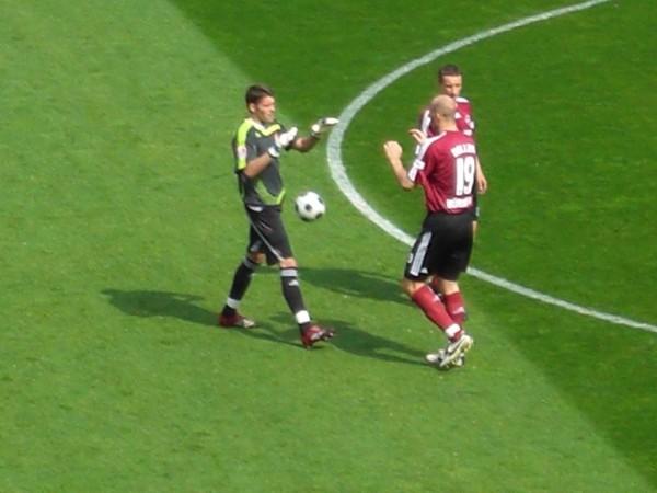 Nürnberg vs. Bielefeld 2008
